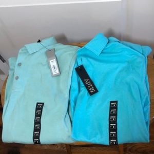 NEW 2 APT.9 MEN'S POLOS - ORIG. $30 each
